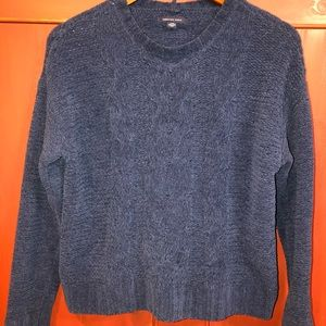 American Eagle Navy Blue Sweater Women's Small